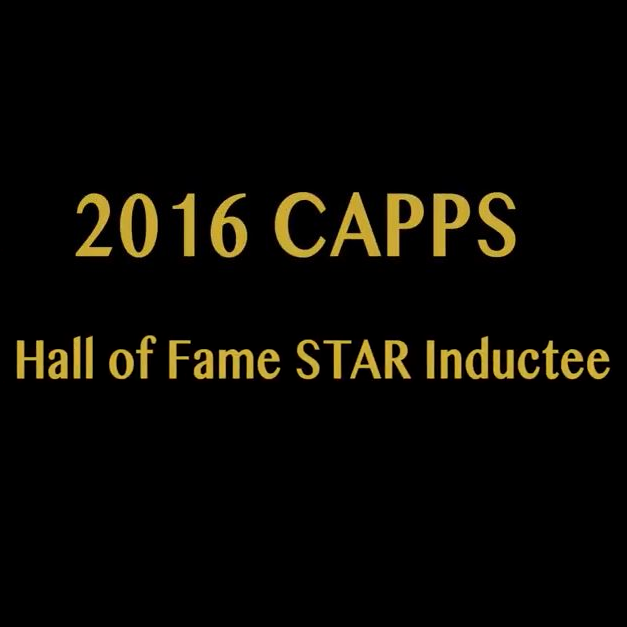 2016 CAPPS Hall of Fame STAR Inductee